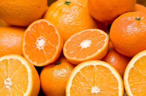 Les fruits - L'orange