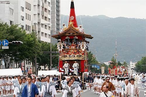 Patrimoine culturel immatériel de l'humanité -Le Yamahoko-