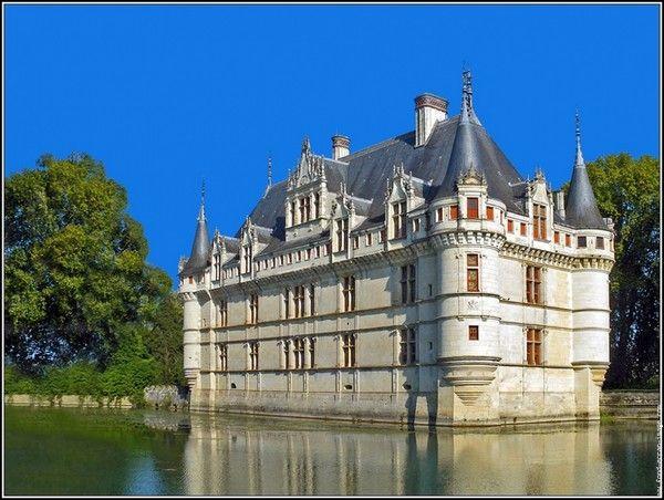 Chateaux de la Loire - Azay le Rideau -