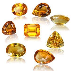 Les gemmes et métaux précieux - La citrine