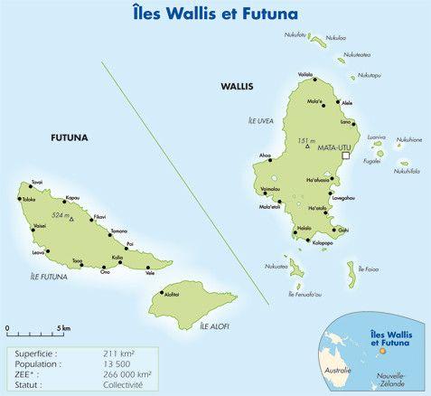 Outremer- Histoire - Wallis et Futuna -