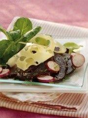 Cuisine - recettes d'été - Carpaccio de betteraves