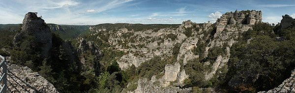 Balade en France - Chaos de Montpellier le Vieux -