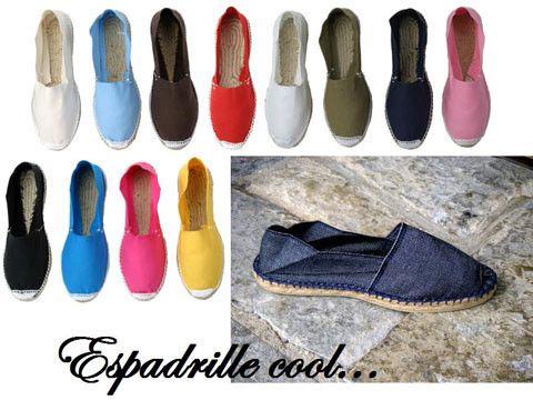 Chaussures et chaussons - L'espadrille -