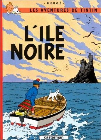 Histoire de la BD - Tintin - L'Ile Noire -