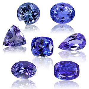 Les gemmes et métaux précieux - LA TANZANITE  -