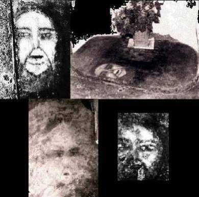 Phénomènes inexpliqués - Des visages sur le carrelage -