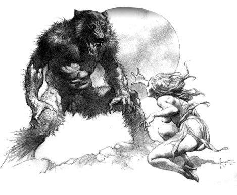 Croyances,superstitions,légendes - Le loup garou(2)