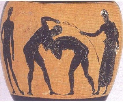Sport et Olympisme - Jeux antiques -