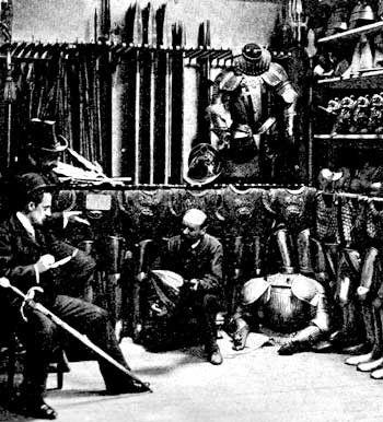 Moyen Âge - Armement et équipement -  armure -