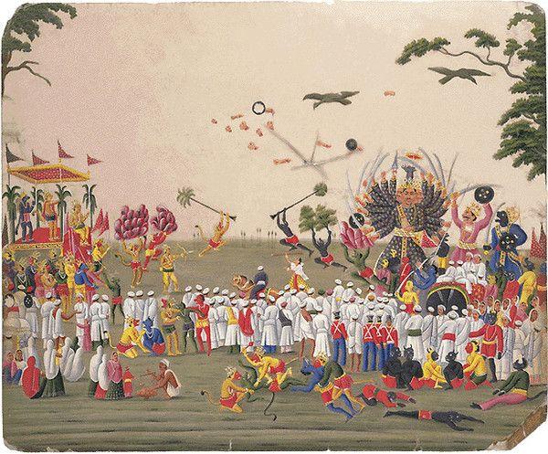 Patrimoine culturel immatériel de l'humanité - Ramlila -