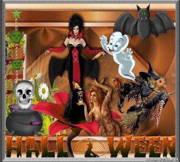 Halloween chez Mounee...