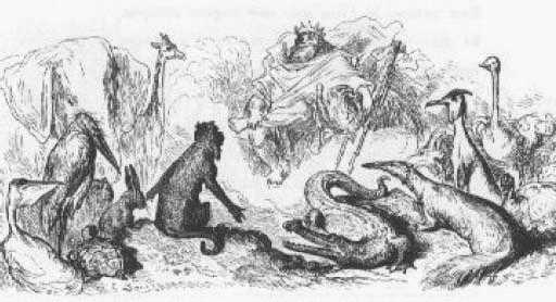 Fables de La Fontaine -Livre I - La Besace -