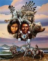 Peuples Indiens - Vie sociale - Chasse et pêche -