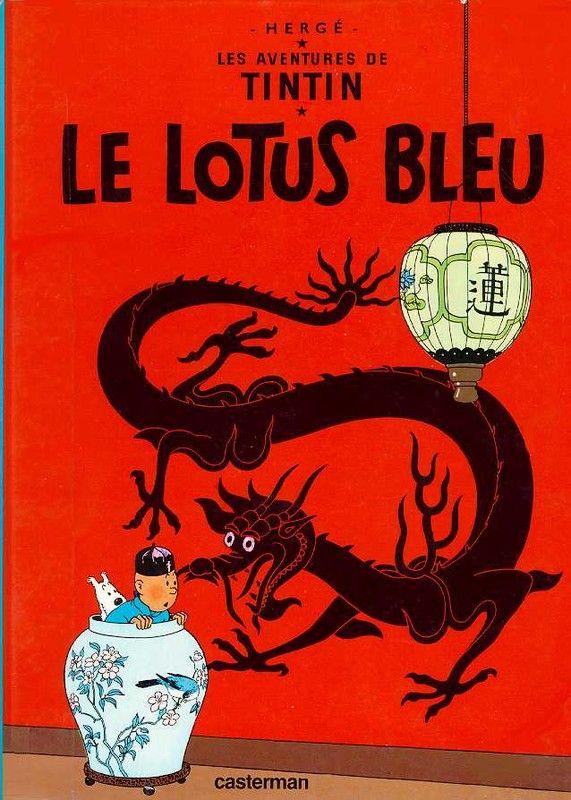 Histoire de la BD - Tintin -Le Lotus Bleu -