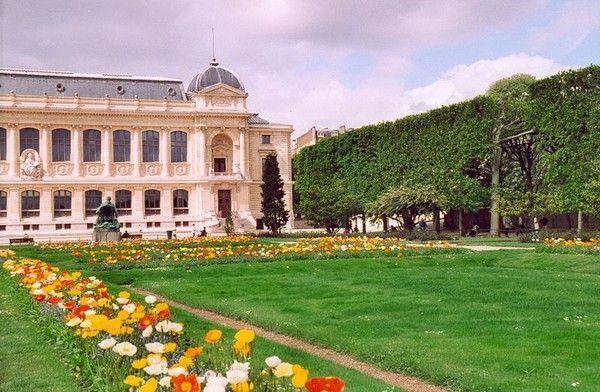 Parcs et jardins - Le jardin des plantes de Paris -