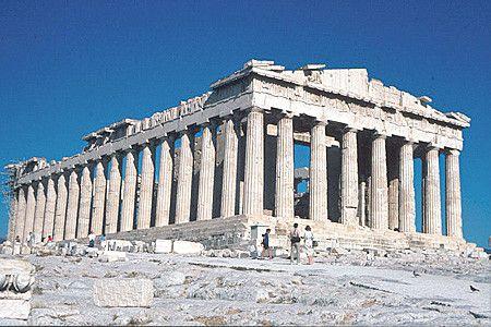 Monuments - Le Parthénon d'Athènes