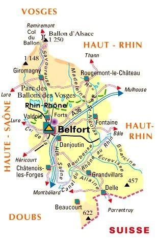 Les départements-(histoire)-Territoire de Belfort - 90 -