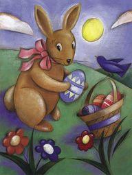 Qui apporte les oeufs de Pâques ?