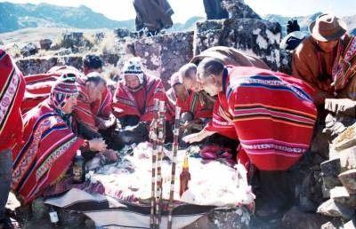 Patrimoine culturel immatériel de l'humanité - Kallawaya -