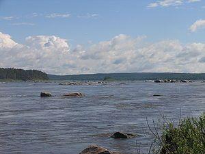 Fleuves et rivières - L'Angara -