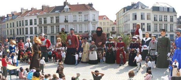 Patrimoine culturel immatériel de l'humanité-Géants et...