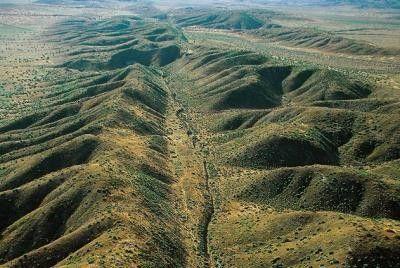 La terre et son histoire - Faille de San Andreas -