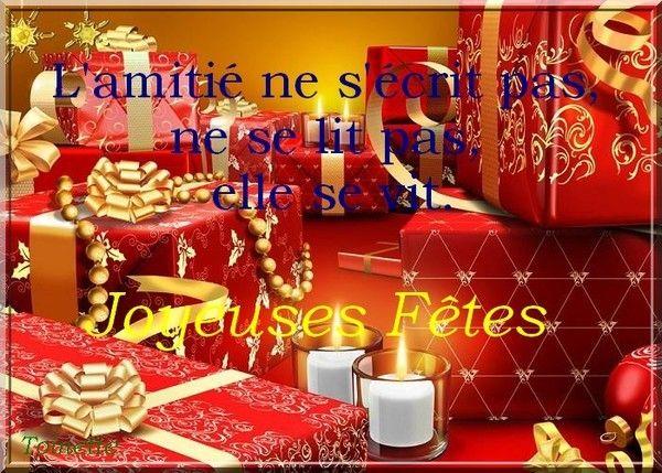 Joyeux Noël chez  Toinette...