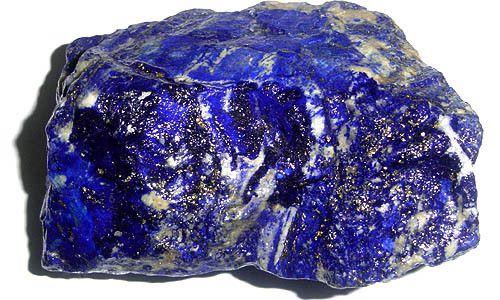 Les gemmes et métaux précieux - Le Lapis-lazuli  -