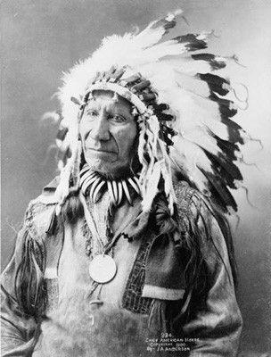 Grands chefs Indiens - American Horse Aîné