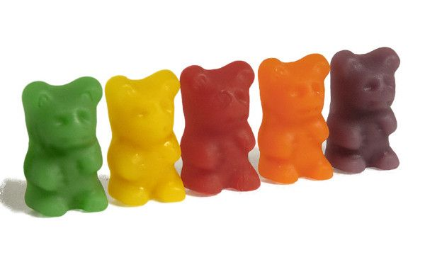 Bonbons et gourmandises - Les nounours -