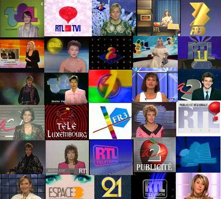 Faits de Société - télévision - Les speakerines - 4 -