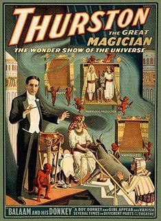 Magie et Magiciens - Howard Thurston - 1869-1936 -