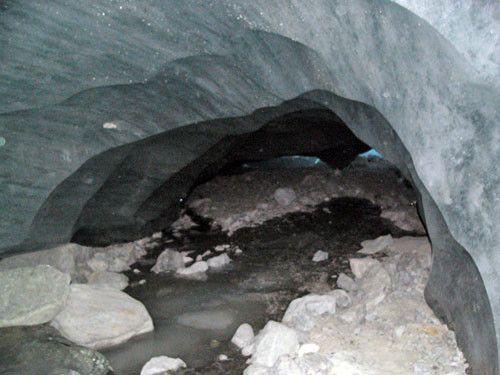 grottes et cavernes - Sous glaciaires -