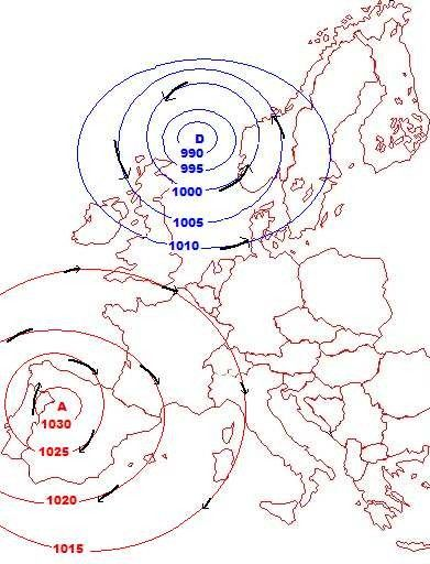 Météo - Les anticyclones -