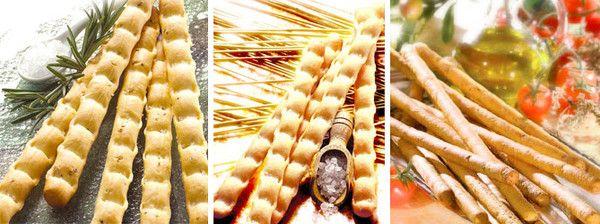 histoire du pain - pains italiens- Les gressins -