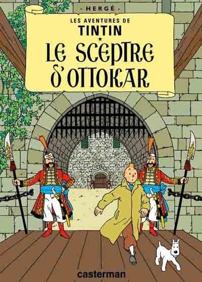Histoire de la BD - Tintin - Le Sceptre d'ottokar -