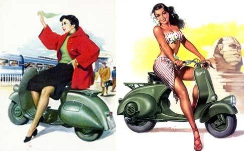 Les Années 50.... Un scooter ?????