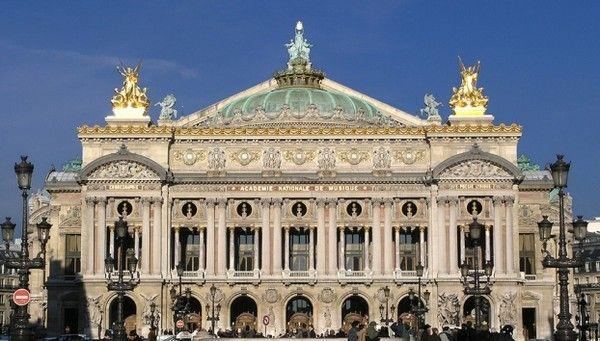 Tourisme et histoire-Paris - L'Opéra Garnier -