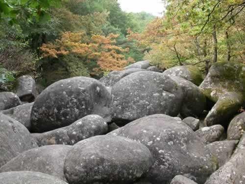 Balade en France - Curiosités - Sites naturels -