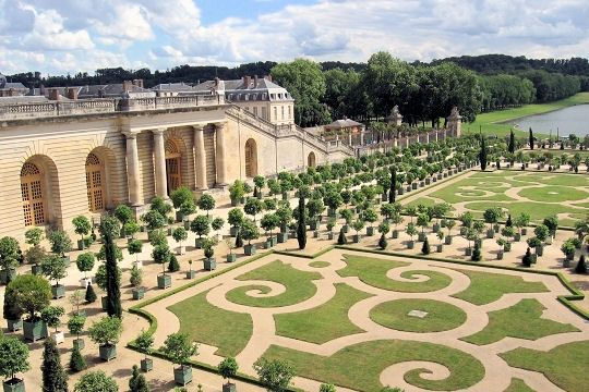 Chateau de versailles for Architecte jardin versailles