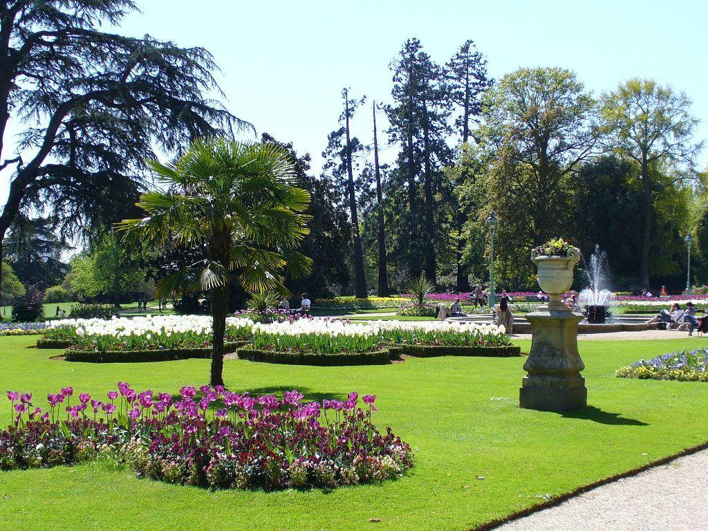 Parcs et jardins parc du thabor histoire for Entreprise parc et jardin
