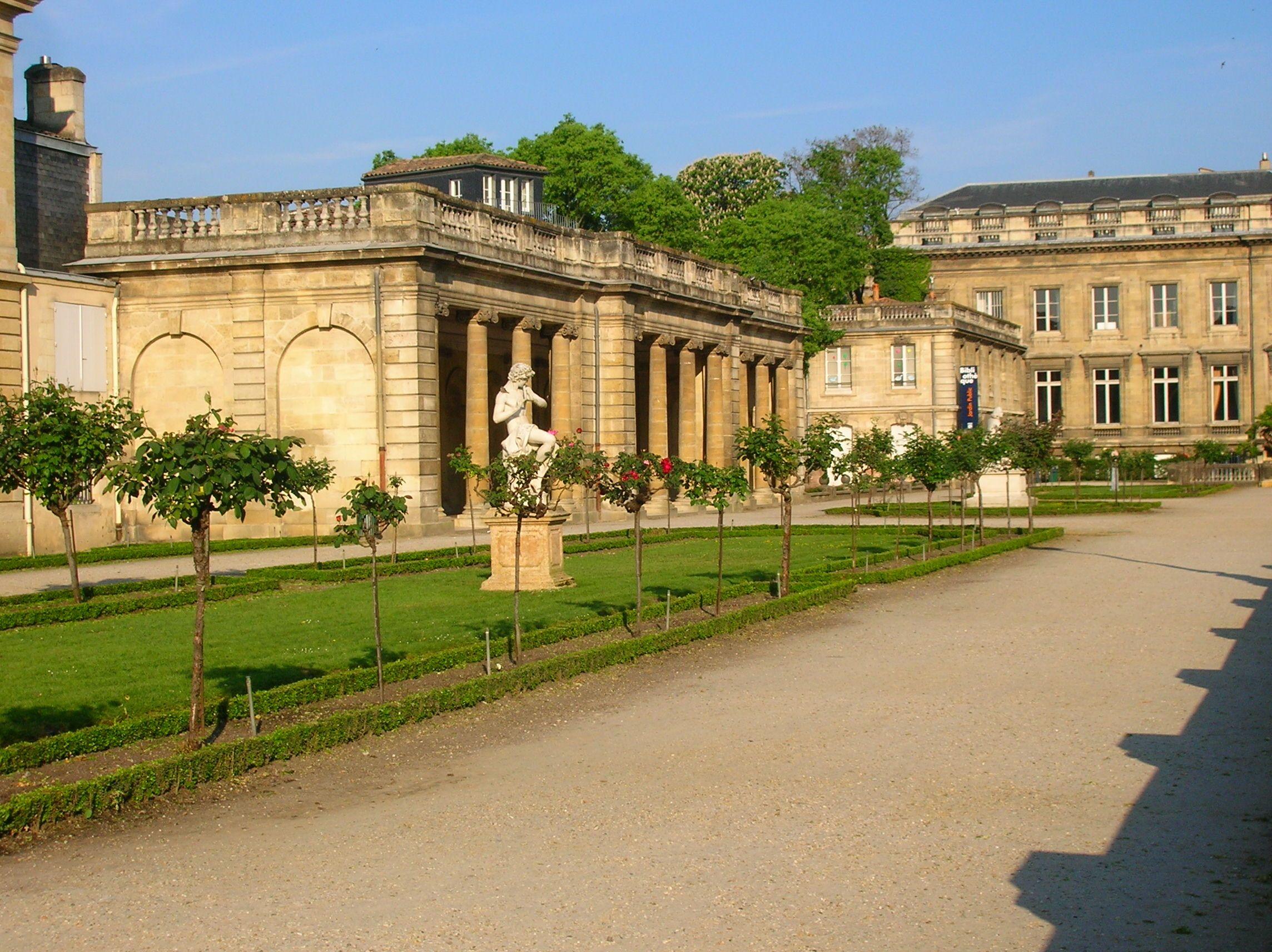 Tourisme et histoire bordeaux le jardin public for Jardin bordeaux