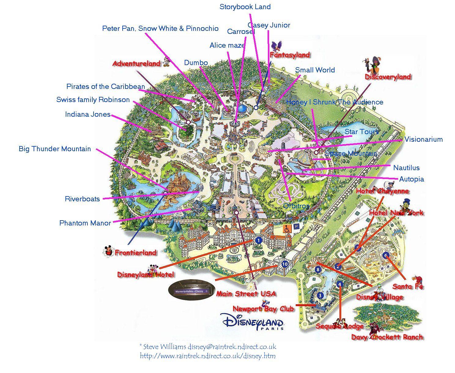 parcs d 39 attractions disneyland paris 1. Black Bedroom Furniture Sets. Home Design Ideas