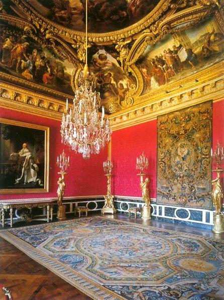 Chateau de versailles for Salon d apollon