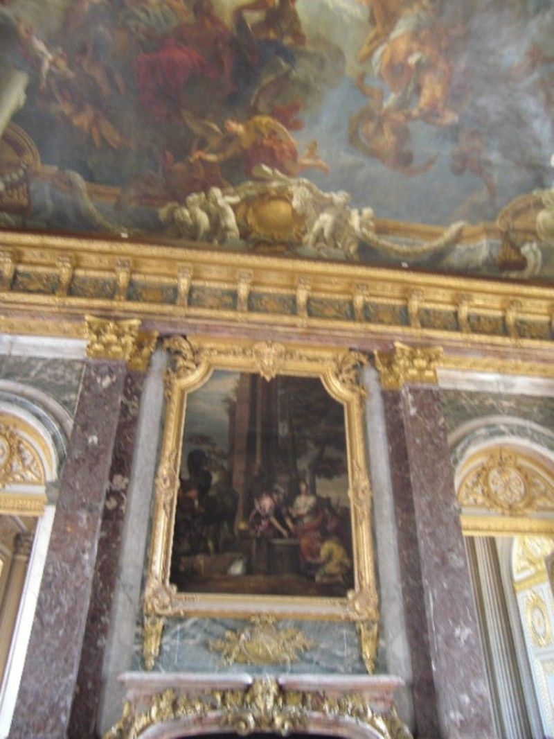 Chateau de versailles chefs d 39 oeuvre des jardins salon d for Salon du vin versailles