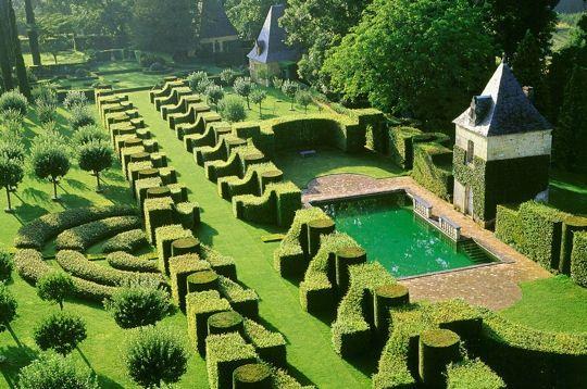 Parcs et jardins les jardins du manoir d 39 eyrignac - Jardin du manoir d eyrignac ...