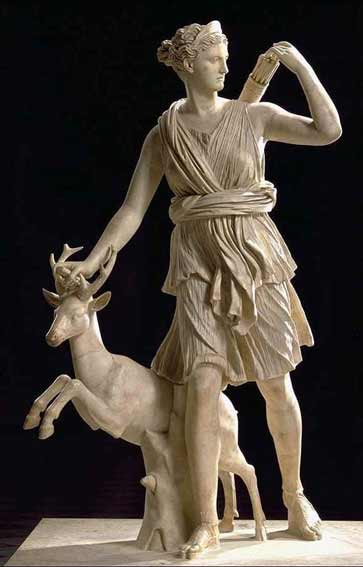 Artemis and Apollo Statue (page 3) - Pics about space